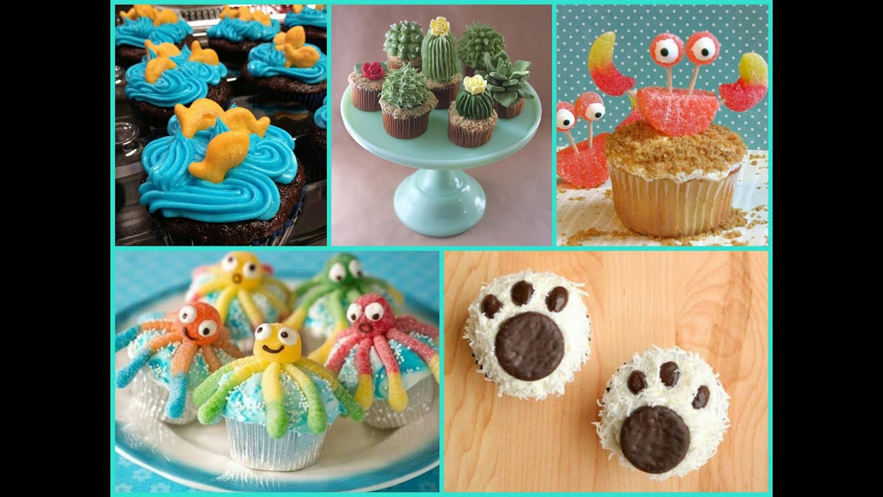 Easy Cupcake Decorating   Ideas, Tips & Tricks - YouTube