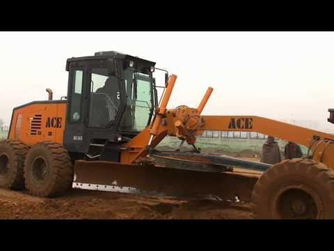 ACE Motor Grader| Soil Compactor| Working Video