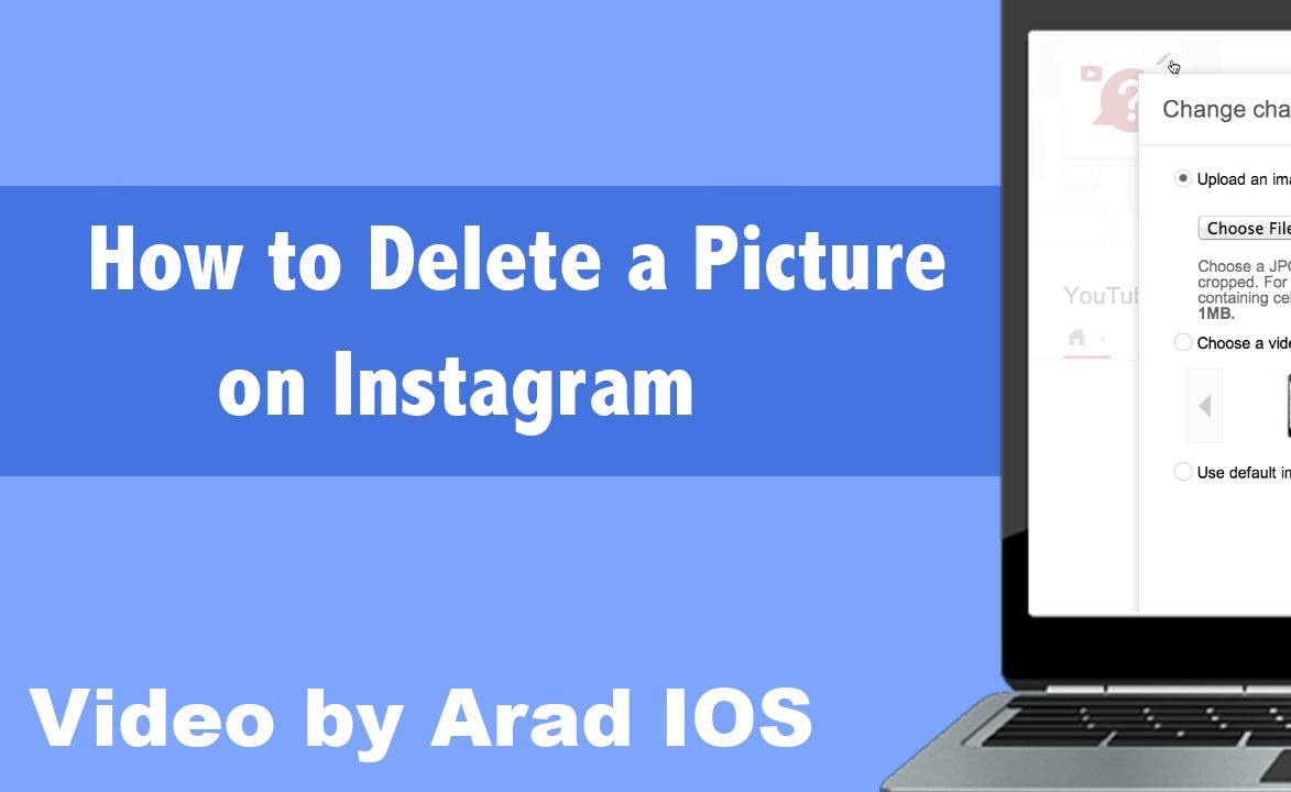 How to delete a picture iphone ipad on instagram youtube how to delete a picture iphone ipad on instagram ccuart Images