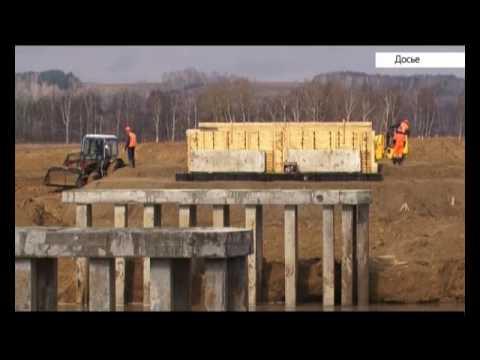 Сегодня откроется новый мост через реку Аламбай