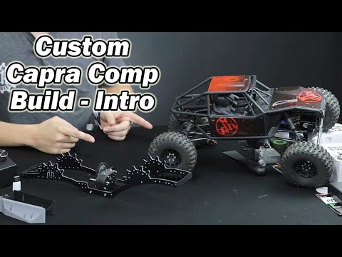 Custom Axial Capra C2/ C3 Comp Rig Build - 3D Printed Parts,