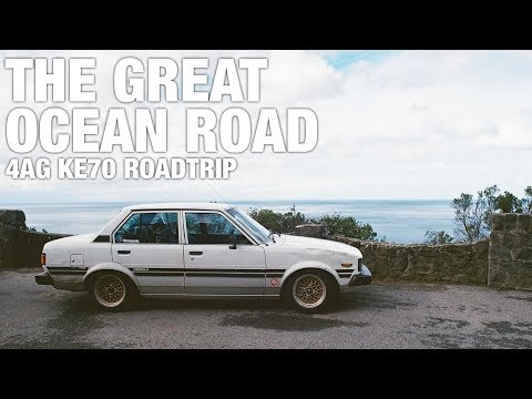Road Tripping the 4AG KE70 Along the Great Ocean Road