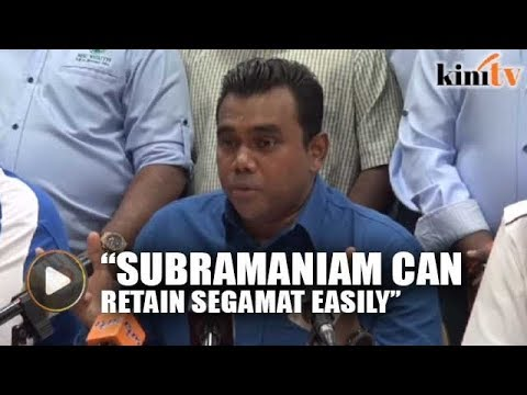 MIC Youth: Subra can easily defend Segamat seat