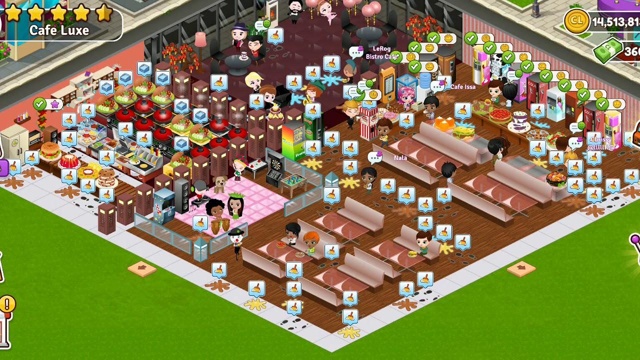 Cafeland- World Kitchen |I Quit My Club!|Mop The Floor ...
