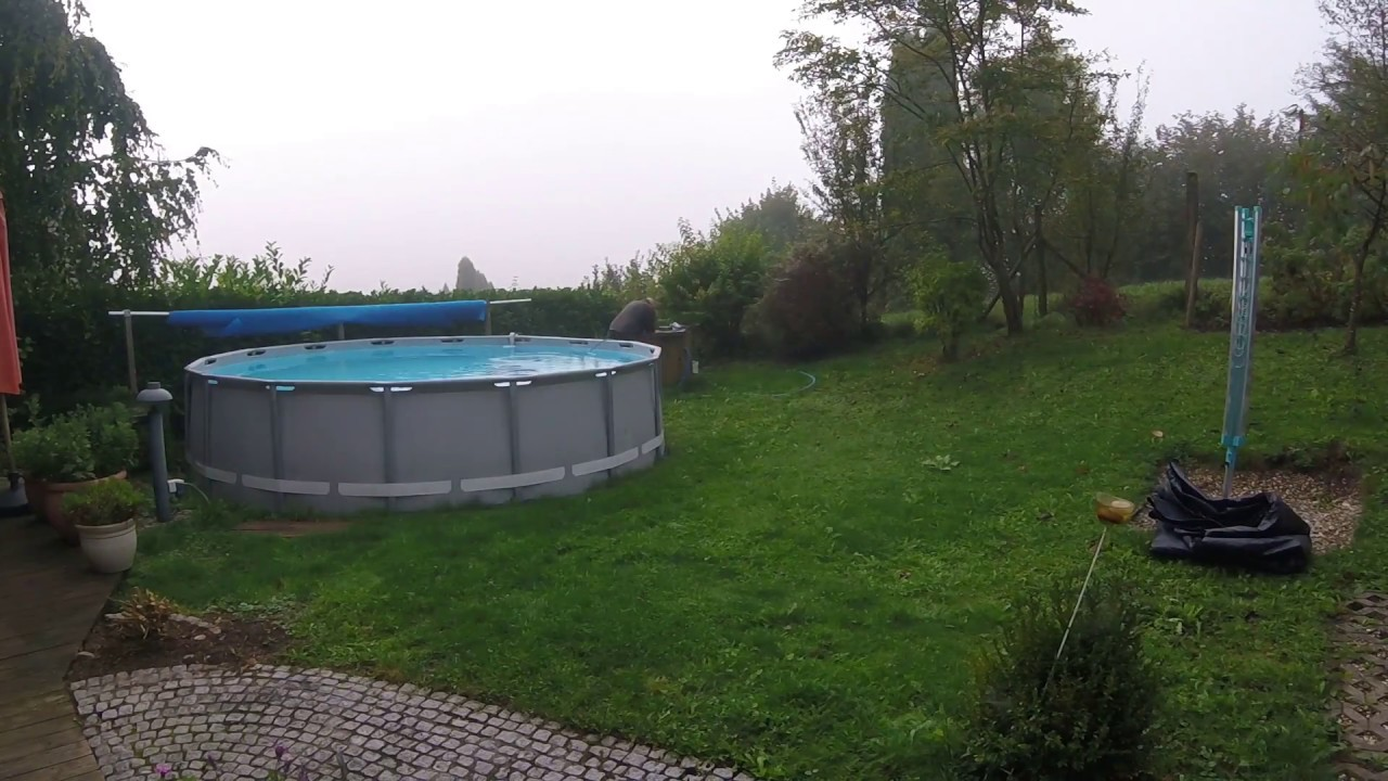 Intex Pool Reinigen Vor Winter Pool Einwintern