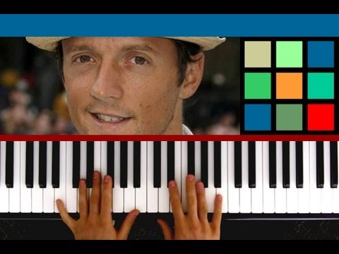 "How To Play ""I'm Yours"" Piano Tutorial (Jason Mraz)"