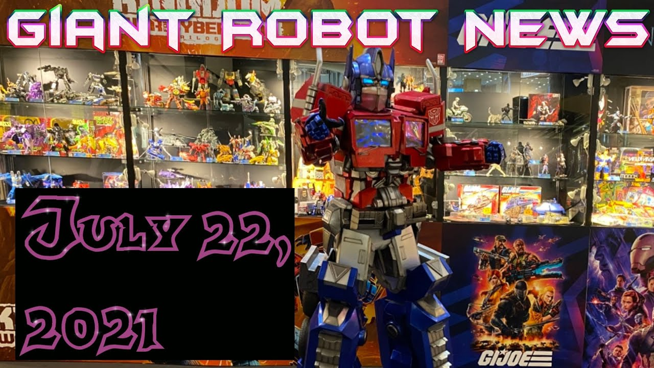 THESE ARE SO COOL!   Giant Robot News July 22 2021
