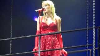 Taylor swift performing her hit song you belong with me, live in tacoma on august 31st 2013 red world tour!sorry some bits are a little shakyto see my...