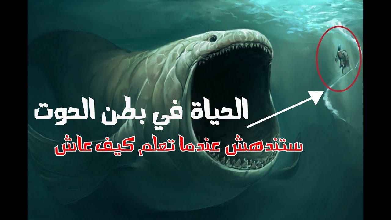 كم لبث نبي الله يونس في بطن الحوت Youtube