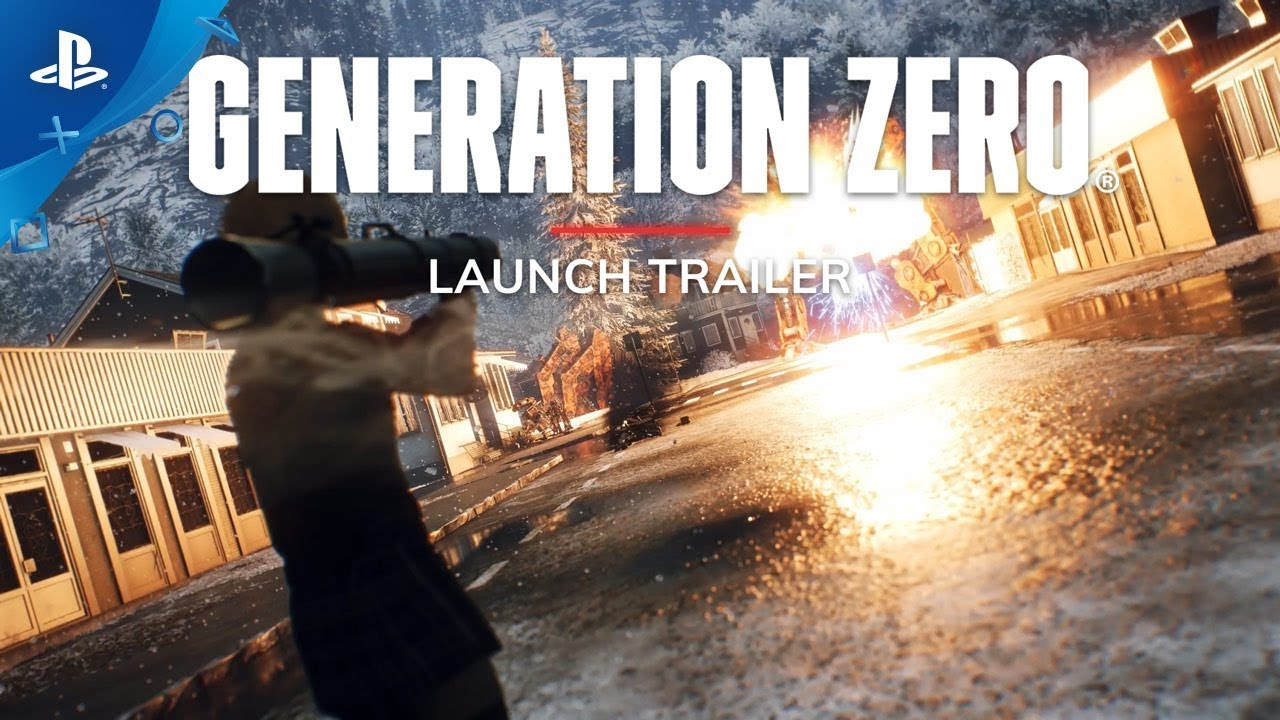 Generation Zero Game Trailer