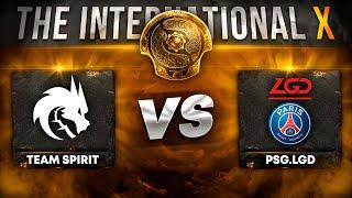 Team Spirit vs PSG.LGD (3-2) - ФИНАЛ - THE INTERNATIONAL 2021 (X) Dota 2   TI10 Дота 2