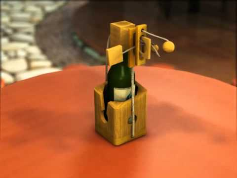 Disentanglement Puzzles: Solution to Wine Challenge from SiamMandalay®