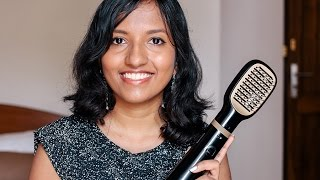 Philips Kerashine Essential Care Air Straightener Demo + Review // Magali Vaz