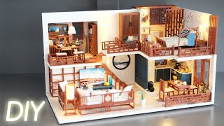 DIY Miniature Dollhouse Kit || Chinese House - Miniature Land