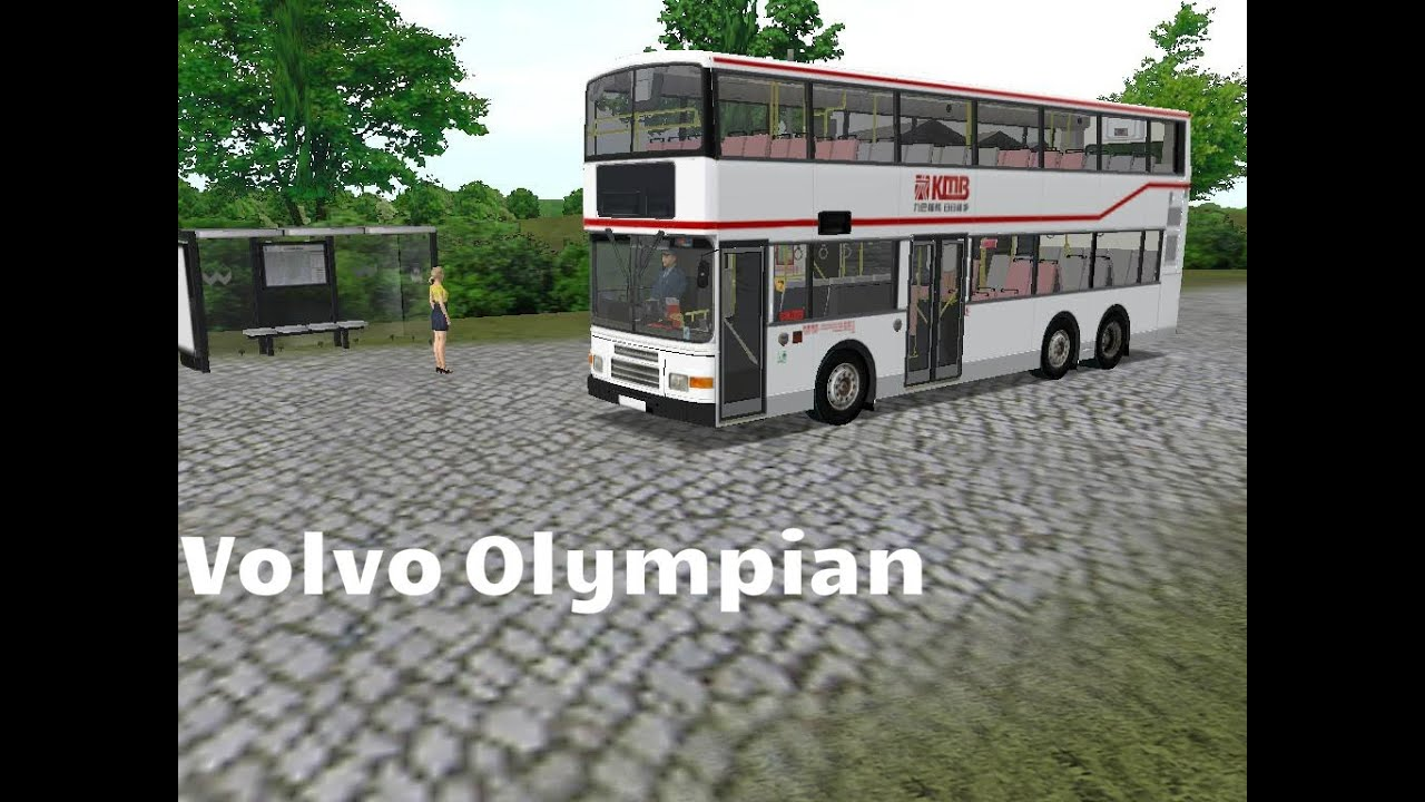 OMSI Bus Simulator: Volvo Olympian - YouTube