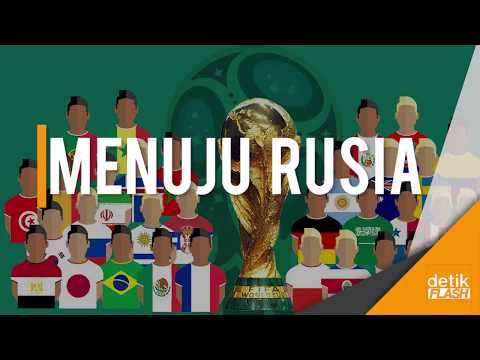 Inilah 32 Negara yang Lolos Piala Dunia 2018!