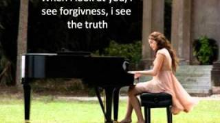 Miley Cyrus - When I Look At You - Karaoke With Lyrics