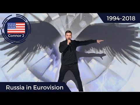 Russia in Eurovision - All Entries from 1994 to 2018