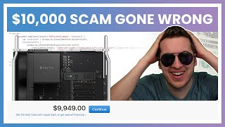 This Scammer Thinks He Lost $10,000 (He's Furious)