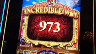 LIVE PLAY on Can Can De Paris Slot Machine with Bonus & Big Win!!!