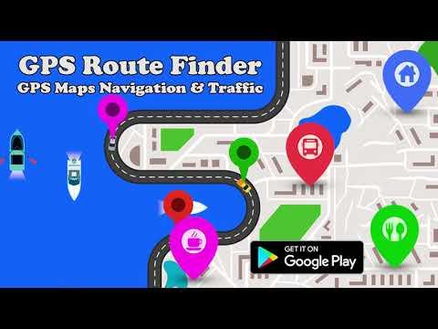 GPS Route Finder - GPS, Maps, Navigation,Traffic