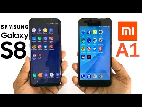 Xiaomi Mi A1 vs Samsung Galaxy S8 Speed Test! Which Is Faster?