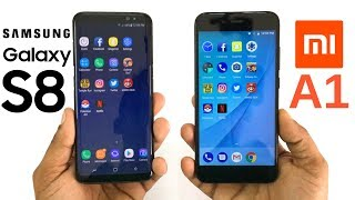 Xiaomi Mi A1 vs Samsung Galaxy S8 Speed Test! Which Is Faster?