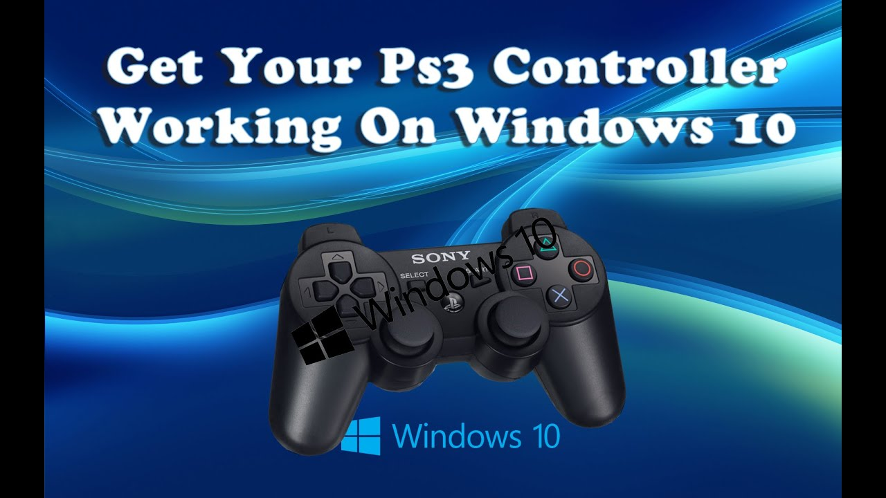 how to run ps3 controller on pc