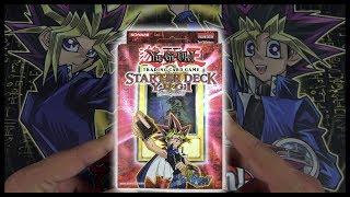 NOSTALGIC YuGiOh 2004 YUGI Evolution Starter Deck Opening & Review! OH BABY!!