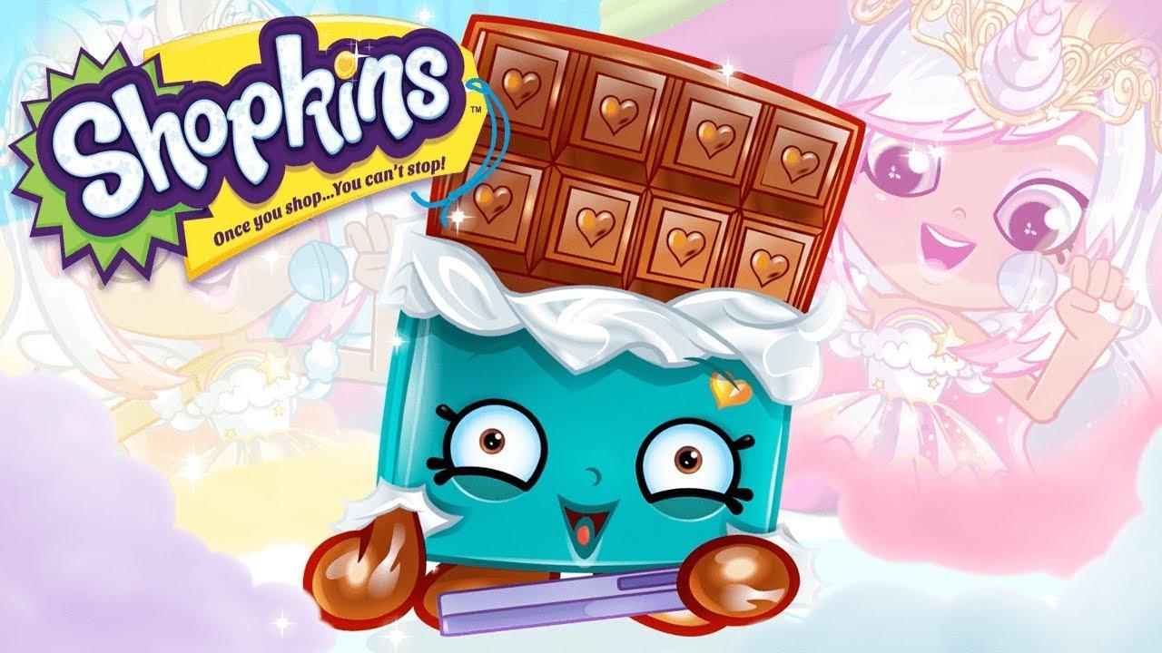 Shopkins Cartoon Crazy Chocolate Videos For Kids