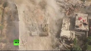 Съемочная группа RT попала под обстрел в Сирии