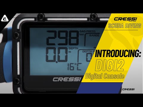 Cressi Digi 2: An extremely precise digital dive console also easy to be used