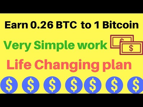 Earn Unlimited Bitcoin with small  Investment - Get Bitcoins [0.26 - 1 BTC /Month]