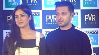 Vatsal Seth And Ishita Dutta Interview Together At Blue Planet 2 Premiere
