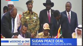 Sudan opposition and military sign deal accord