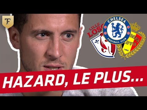 "L'interview ""Qui est le plus ?"" d'Eden Hazard"
