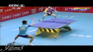 2012 China Super League: ZHANG Jike - XU Xin [Full Match/Short Form]