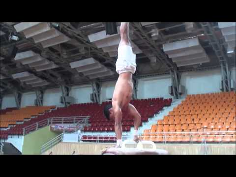 Gymnastics Practice Session At Pune..
