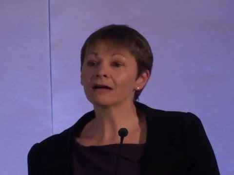 Caroline Lucas Green Party Speech pt 1