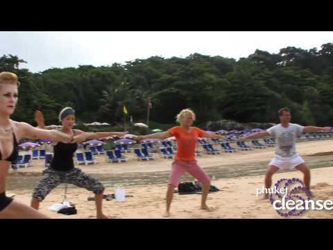 Phuket Cleanse – Boot Camp@ the beach!