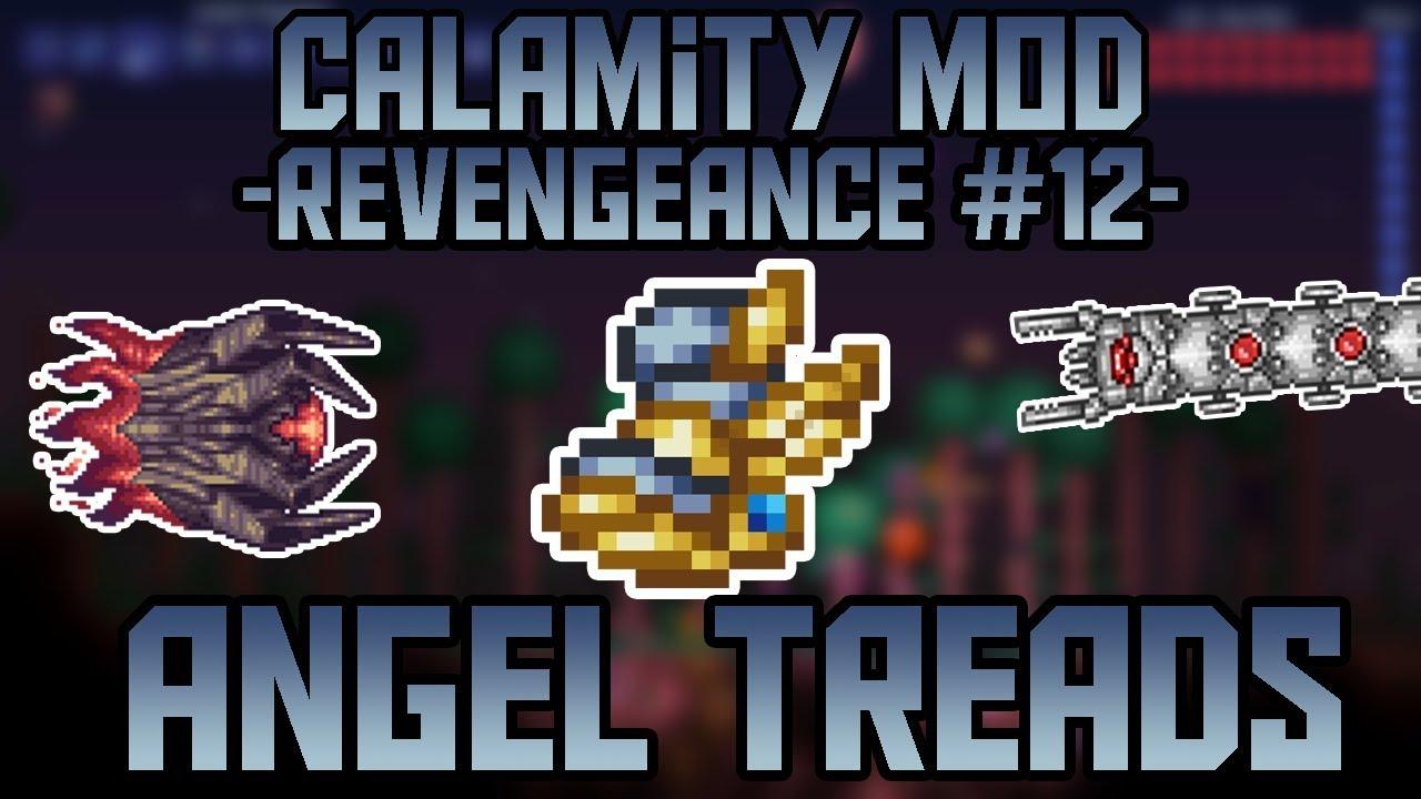 Angel Treads! Terraria Revengeance mode Let's Play   Episode 12  