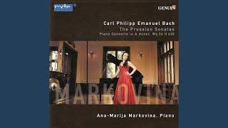 "Keyboard Sonata in E Major, Wq. 48/3, H. 26, ""Prussian Sonata No. 3"": II. Adagio"