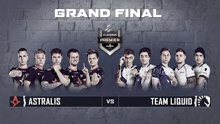 ELEAGUE Premier 2018 - Grand Final: Astralis vs. Team Liquid