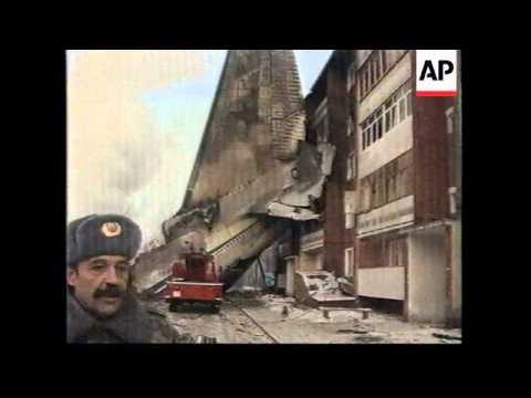 RUSSIA: IRKUTSK: ANTONOV 124 MILITARY AIRCRAFT CRASH UPDATE (2)