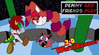 Pemmy and Friends Play 3D World Runner Part 4
