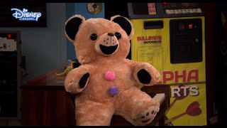 Austin & Ally - Horror Stories and Halloween Scares - Scary Teddy Bear! - Disney Channel UK HD