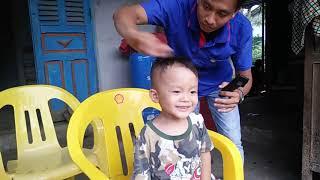 Tự Cắt Tóc Cho Bé Bằng Tông Đơ - Đẹp mà dễ Cắt - tông đơ cắt tóc trẻ em