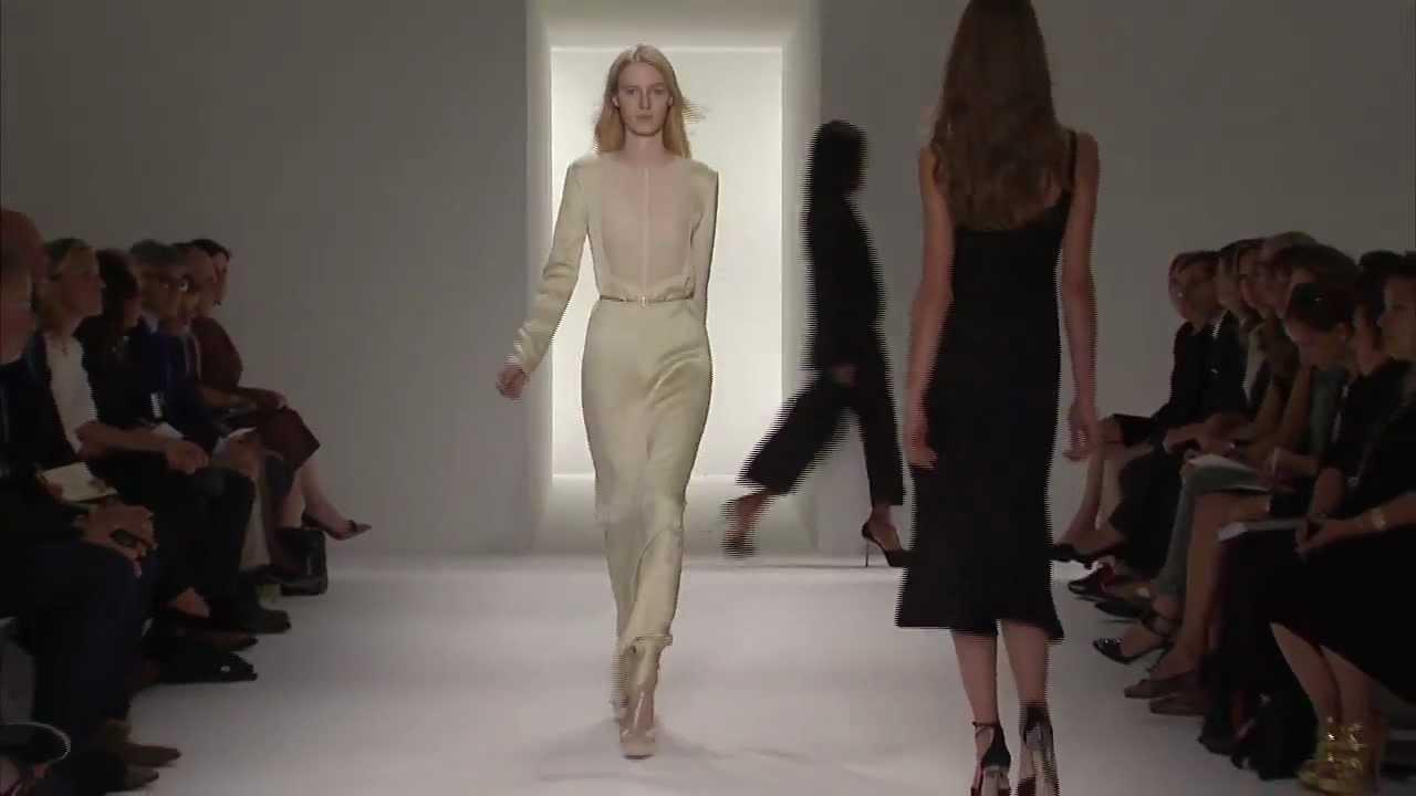 Calvin Klein collection women's spring 2012 runway show
