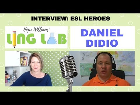ESL Heroes: Interview with Daniel Didio