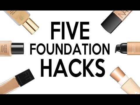 FIVE LIFE CHANGING FOUNDATION HACKS!